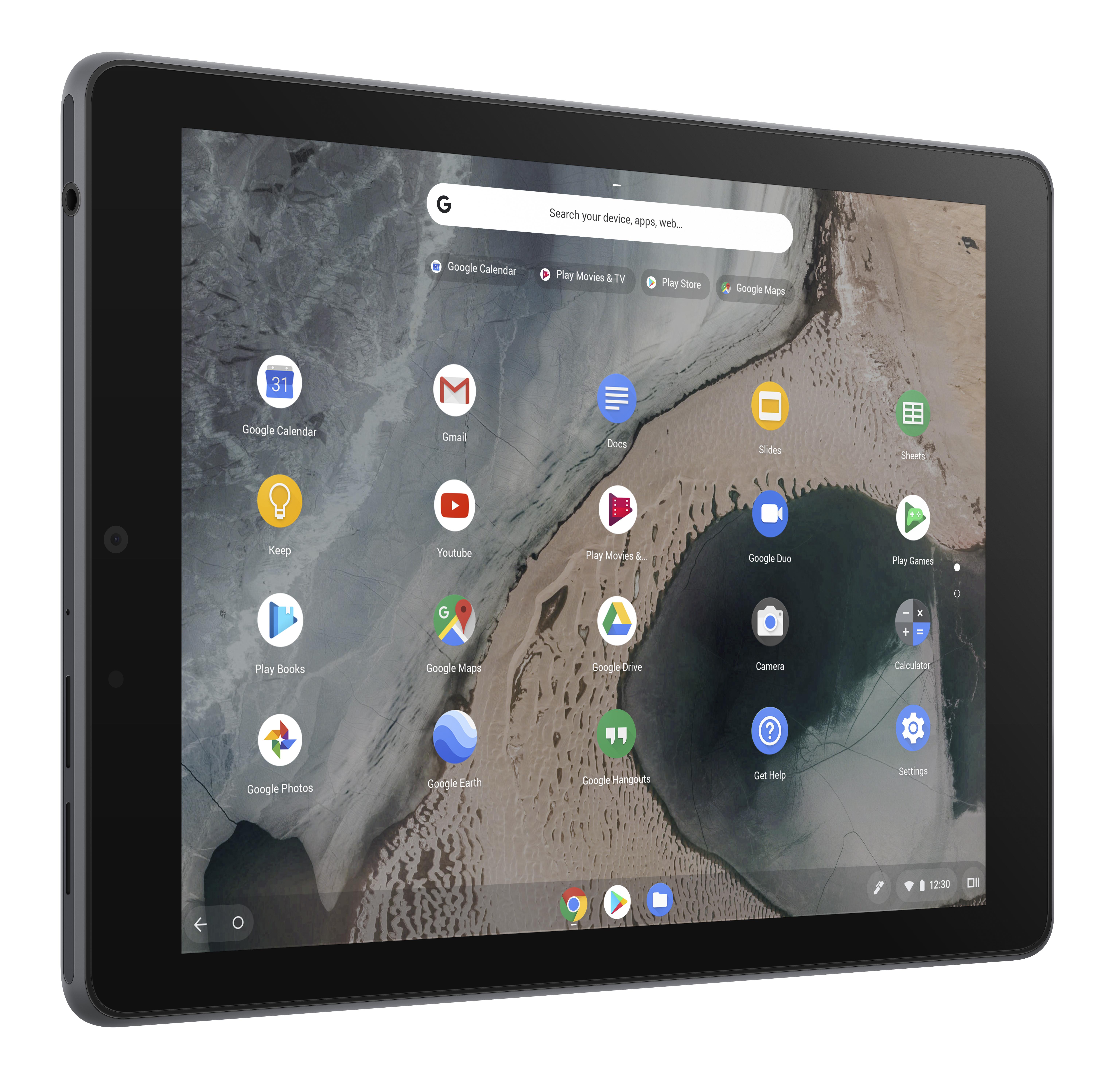 ASUS Chromebook Tablet CT100 in Dark Grey