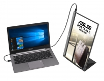 Asus-ZenScreen-Portable-Monitor-MB16ACE-pivot-with-Laptop