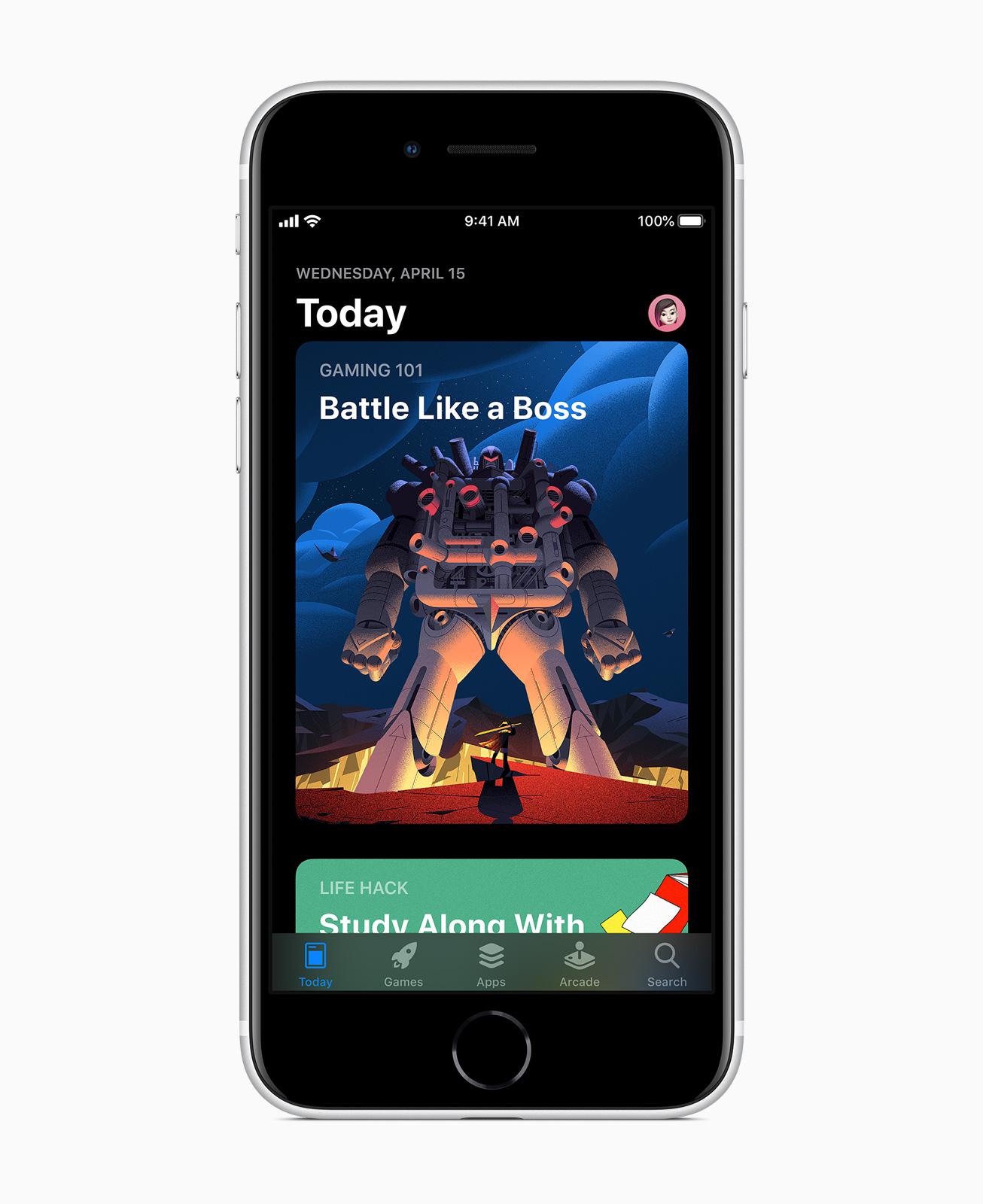 Das neue Apple iPhone SE Apple App Store