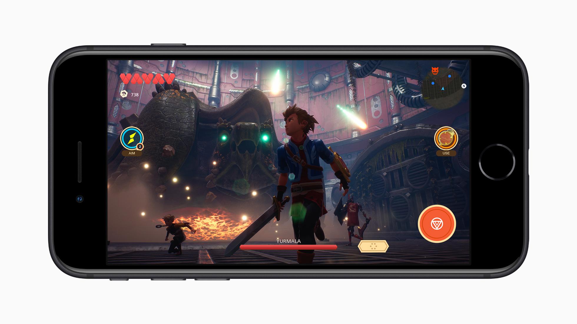 Das neue Apple iPhone SE Apple Arcade Screen