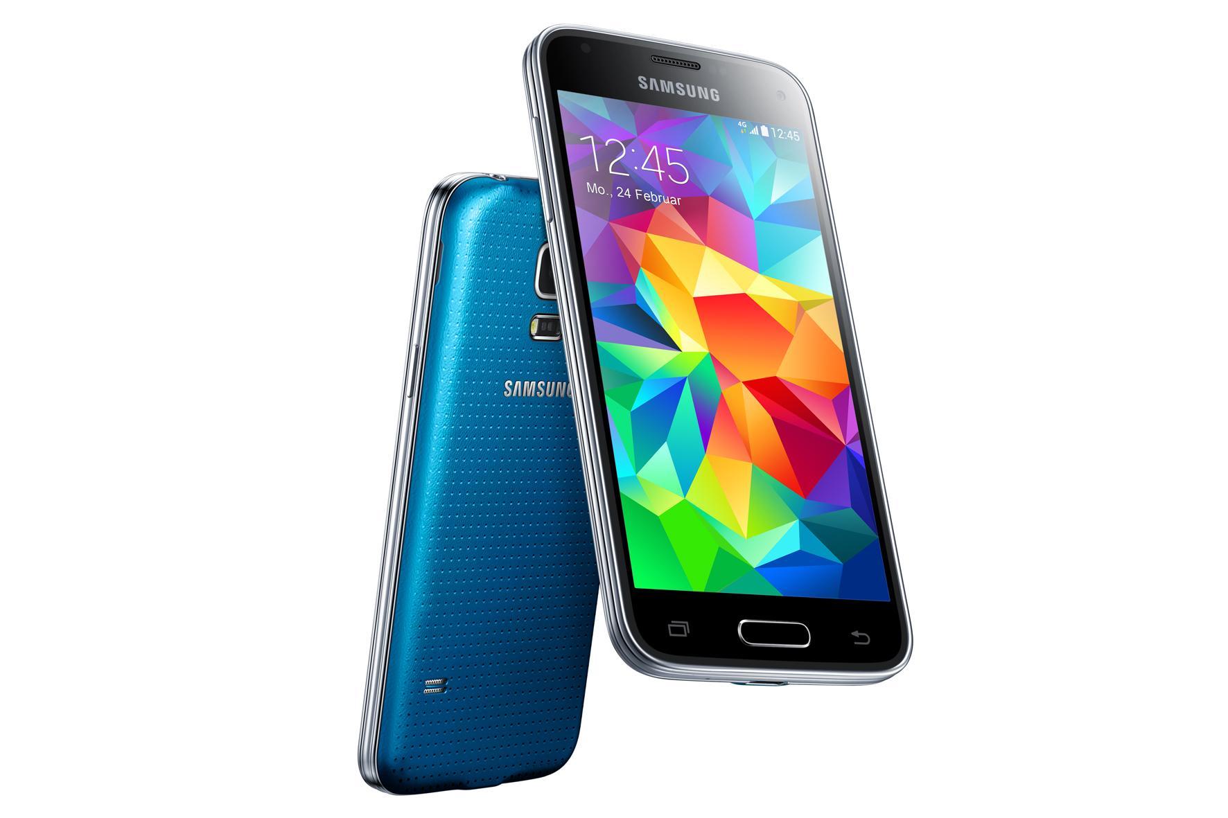 Samsung GALAXY S5 mini electric blue - Handy-DSL-Tarif.Info