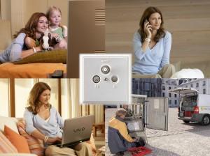 Kabel Deutschland bietet TV, Internet und Telefon aus einer Hand