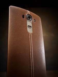 LG-G4 mit Leder-Rückseite