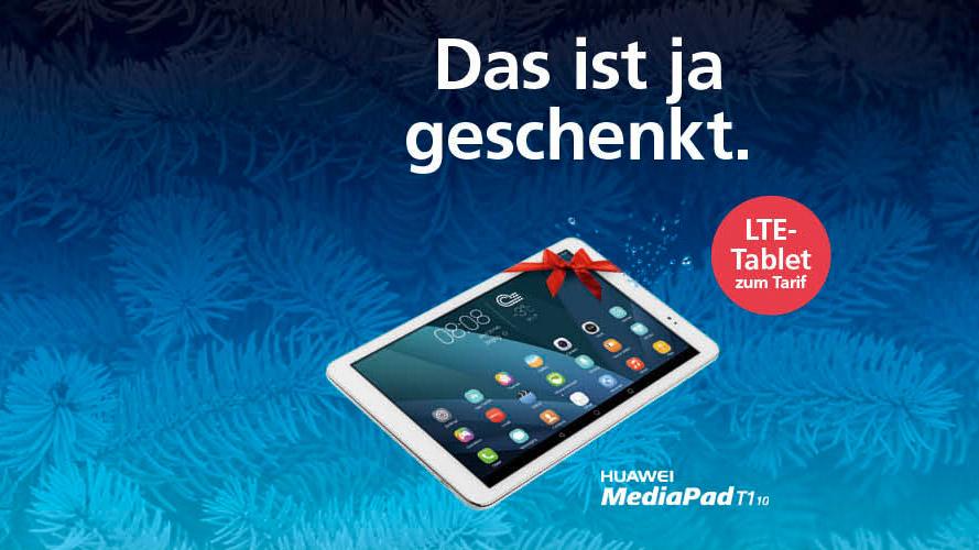 o2 winterkampagne darfs ein tablet f r unterwegs sein mit dem huawei mediapad t1 10 handy. Black Bedroom Furniture Sets. Home Design Ideas