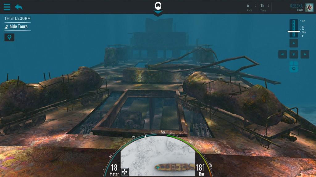 Thistlegorm Dive Mode