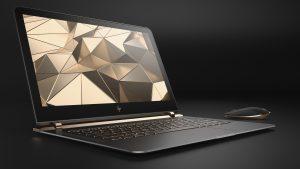 HP Spectre 13.3 Notebook mit Windows 10 im edlen Design