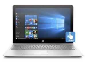 HP envy 15.6 Notebook mit Windows 10 Ansicht von vorn