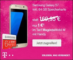 telekom mobilfunk online deal im mai samsung galaxy s7 zum aktionspreis 64 gb speicherkarte. Black Bedroom Furniture Sets. Home Design Ideas