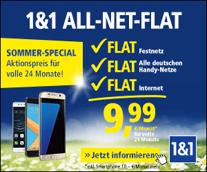 1und1 All-Net-Flat Sommer Special