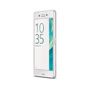 Das Sony Xperia X Performance in Weiß