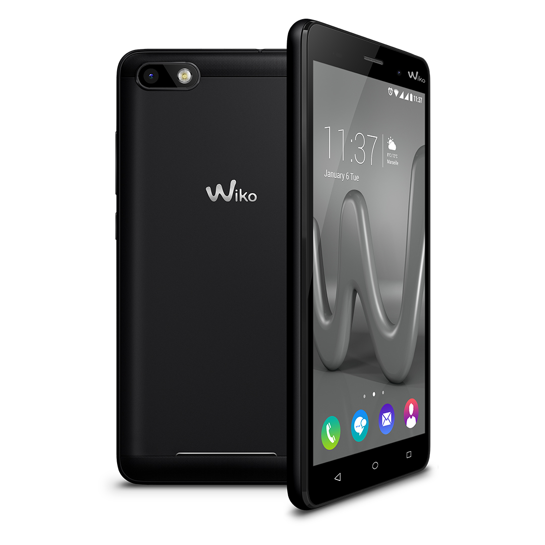 das neue wiko lenny 3 in schwarz handy dsl tarif info. Black Bedroom Furniture Sets. Home Design Ideas