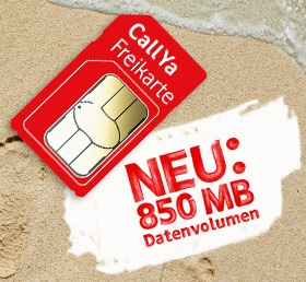 Vodafone CallYa Prepaid Handytarife inklusive EU-Roaming und LTE Max