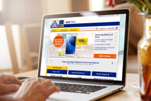 ALDI erweitert ALDI TALK um einen Online-Shop