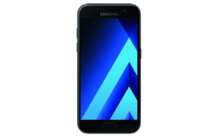 Samsung Galaxy A3 2017 in black-sky