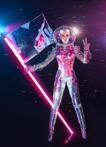 Katy Perry mit der MTV Flagge