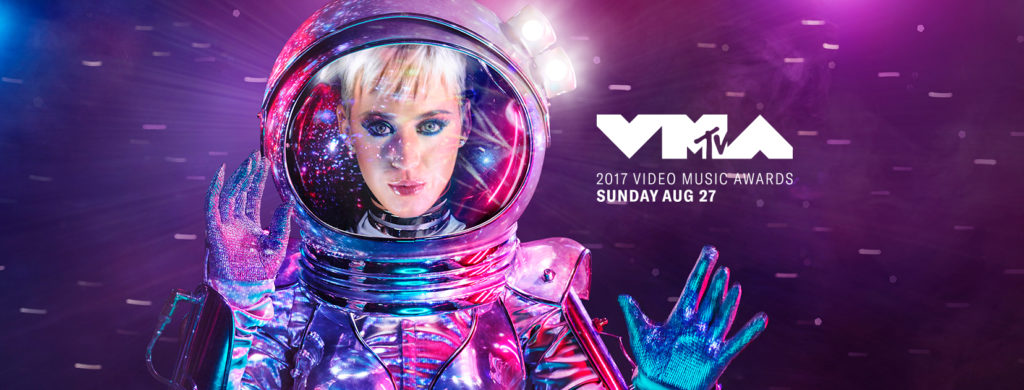 Katy Perry moderiert die MTV VMA - Video Music Awards - 2017