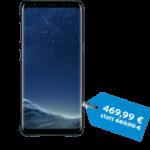 Das Samsung Galaxy S8 (in silber oder schwarz) in der congstar Cyber Weekend Aktion