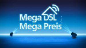 Das neue O2 DSL - Mega DSL zum Mega Preis