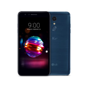 Das neue LG K10 Android Smartphone in Moroccan Blue