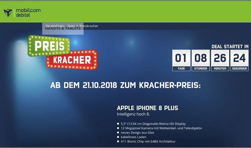 mobilcom-debitel Preiskracher Sonntagskracher