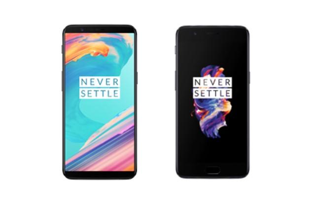 OnePlus 5 und OnePlus 5T