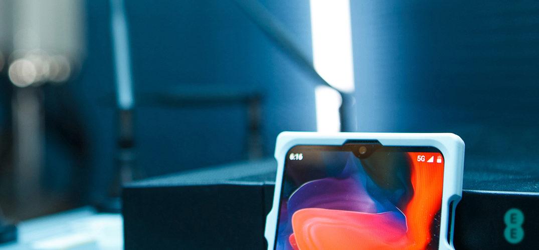 OnePlus kommerzielles 5G-Smartphone