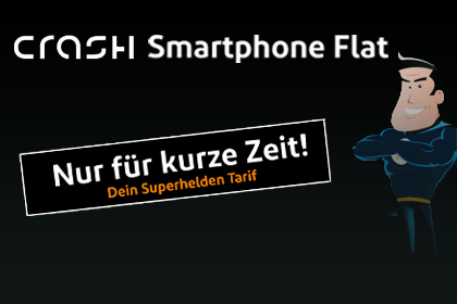 Crash Tarife Superhelden Smartphone-Flat 1000
