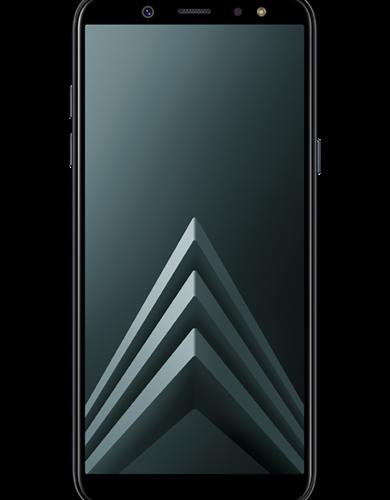Das Samsung Galaxy A6 32GB in schwarz ohne Vertrag für nur 175 Euro
