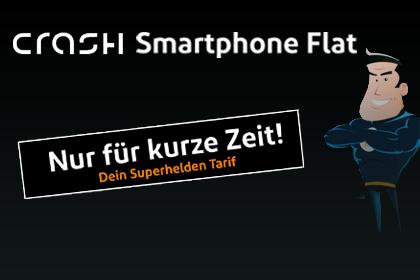 crash Smartphone Flat 1000 Aktionsangebot