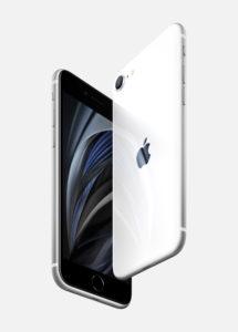 Das neue Apple iPphone SE in Weiß