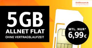 SimDiscount Allnet-Flat 5GB