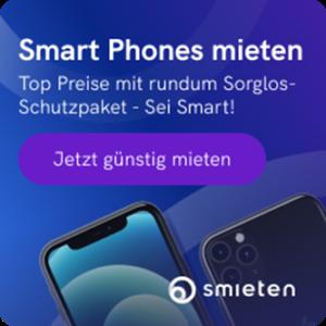 Smieten - Smart Phones mieten statt kaufen