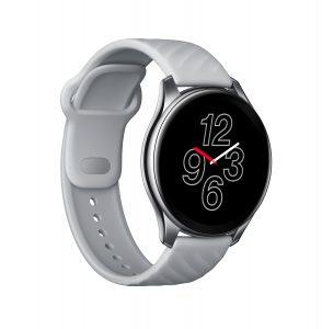 Die OnePlus Watch in sportlich elegantem weiß